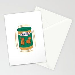 Peanut Butter Vibes - Smooth Stationery Cards