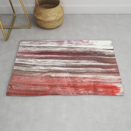 Striped abstract Rug