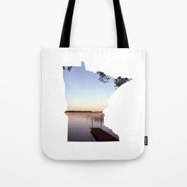 Lake Minnesota Tote Bag