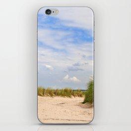 way to the beach iPhone Skin