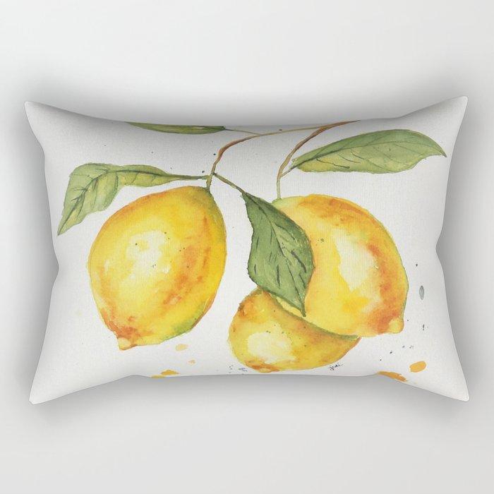 Lemon Love Rectangular Pillow