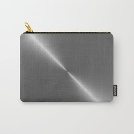 Bright Polished Titanium Metal Carry-All Pouch