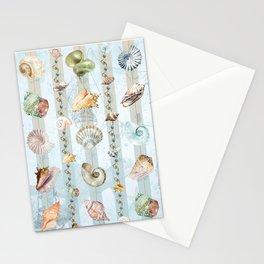 Fantasia di conchiglie Stationery Cards