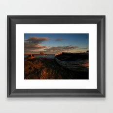 Holy Island Framed Art Print