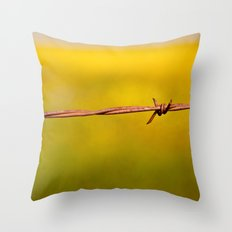 Barbed Knot Throw Pillow