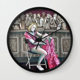 Audience 2 Wall Clock