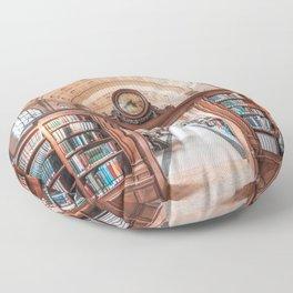 Boston Library Floor Pillow