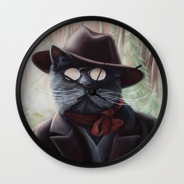 Kitty Roosevelt Wall Clock