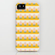Gold and Pink Mountains Slim Case iPhone (5, 5s)