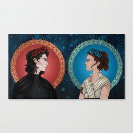 Royalty - Reylo Canvas Print