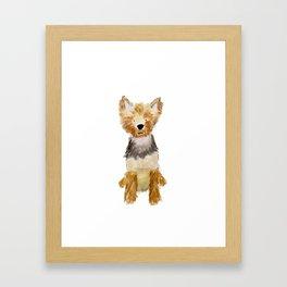 Yorkie Framed Art Print