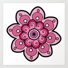 Flower 06 Art Print