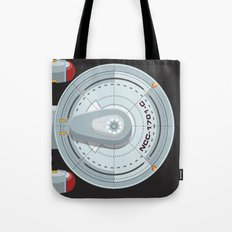 Enterprise - Star Trek Tote Bag