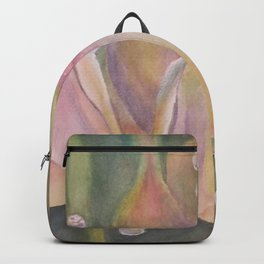 Pastel Dew Drops on Bell Flowers Backpack