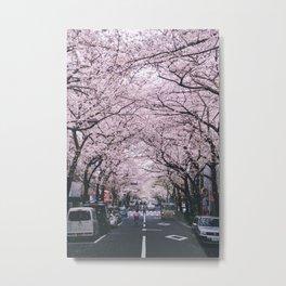 Nihonbashi Sakura Metal Print