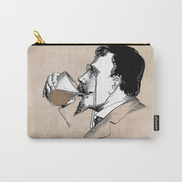patent moustache holder Carry-All Pouch