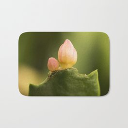 Christmas Cactus Bud to Bloom Bath Mat