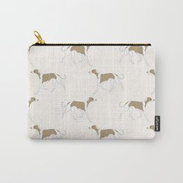 The Walking Whippet Carry-All Pouch