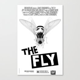 the fly remixed Canvas Print