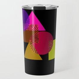 Geometric love Travel Mug