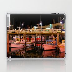 Harbor Reflection at Night Laptop & iPad Skin
