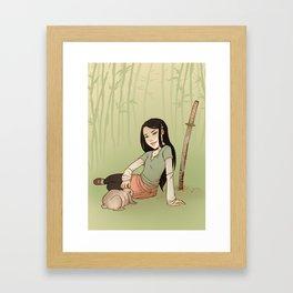 Usagi Framed Art Print