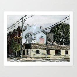 487 King St East Art Print