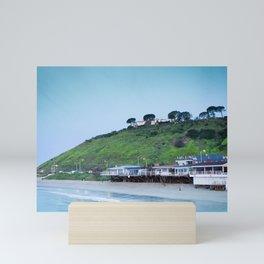 Pastel retro Malibu IV beach Mini Art Print