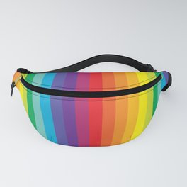 Rainbow Stripes Fanny Pack