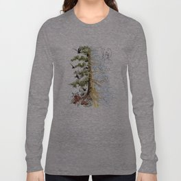 The Woods and The Water Long Sleeve T-shirt