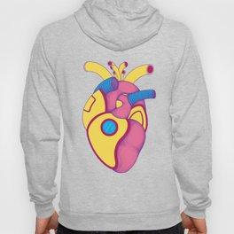 Yellow Submarine Heart Hoody