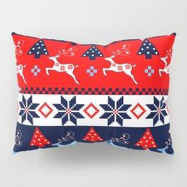 Scandinavian holidays pattern design Pillow Sham