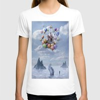 ballon T-shirts featuring Sweet Castle by teddynash