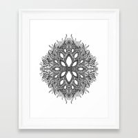 plant Framed Art Prints featuring plant by Ichsjah