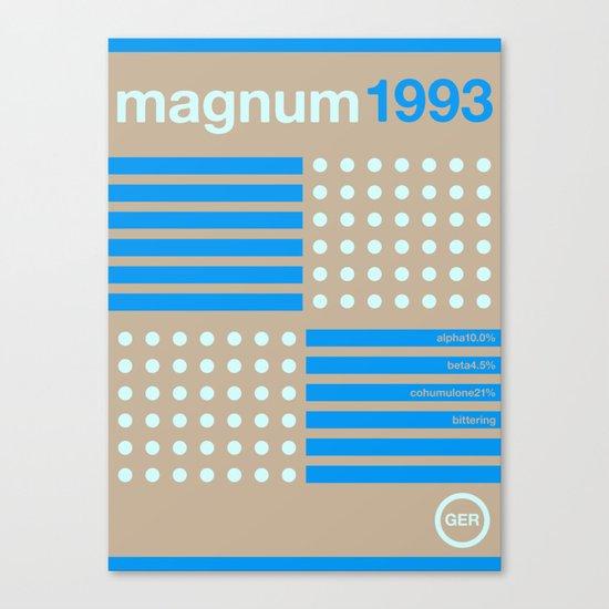 magnum single hop Canvas Print