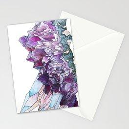 Amethyst Quartz Stationery Cards