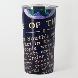 African American Portrait, Forks of the Road, Natchez by Jeanpaul Ferro Travel Mug