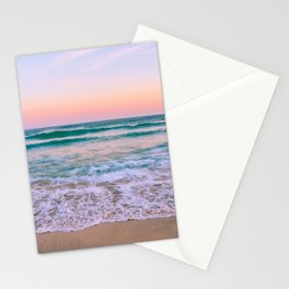 Ocean and Sunset Needed Stationery Cards
