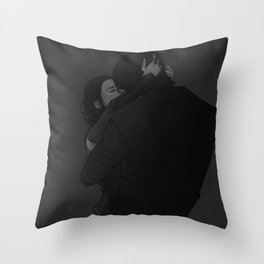 [interlude-] the sorrow that you cling to; Throw Pillow