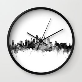 Philadelphia Pennsylvania Skyline Wall Clock
