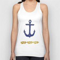 nautical Tank Tops featuring Nautical by DesignSam