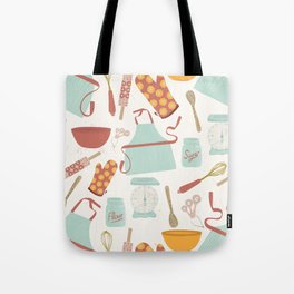 Vintage Kitchen Tote Bag