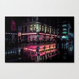 London Nights / Liam Wong Canvas Print