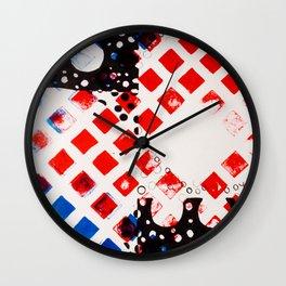 Math Series,four Wall Clock