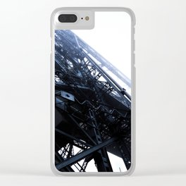 Foggy Lift #1 Clear iPhone Case