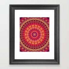 Mandala 266 Framed Art Print