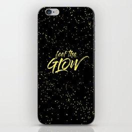 Feel the Glow iPhone Skin