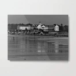 Colony Hotel, Kennebunkpot Metal Print