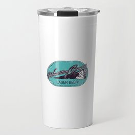 Whistling Beaver Lager Beer Travel Mug