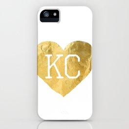 KANSAS LOVE 3 iPhone Case